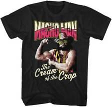 Macho Man Cream Of The Crop Black Licensed Men's Tee Shirt Sizes S-5XL