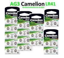Camelion Knopfzellen AG3 G3 LR41 SR41W 392 Alkaline Uhren Batterien 2-10 Stück