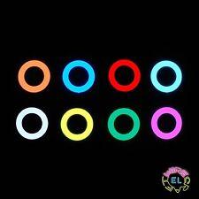 6cm EL Hoop = £3.99 - Glowing Disc of EL Tape - Ring Shape in Tron Costume