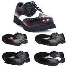 Boots & BRACES - 4-loch Budapest Zapatos Cubierta De Acero Más colores