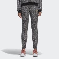 Adidas Originals Women's ALLOVER PRINT Leggings Black/White BR0311 b