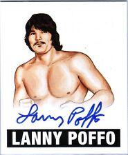 The Genius Lanny Poffo LP1 2012 Leaf Originals Wrestling Autograph Card WWE DWC5