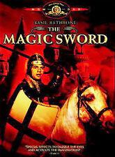 The Magic Sword (DVD, 1962) Basil Rathbone Classic, Free Shipping!!