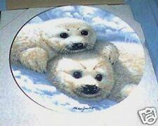 Beauty of Polar Wildlife Baby Seals Plate #1