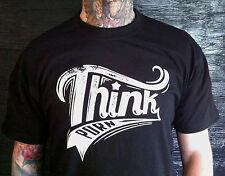 Think Porn - T-Shirt Rotlicht , Streetwear S - 6XL