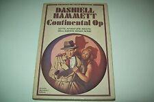 DASHIELL HAMMETT-CONTINENTAL OP-BIBLIOTECA DEL GIALLO MONDADORI-1980-1aED.-N. 9