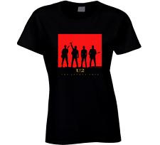U2 The Joshua Tree Rock Band T shirt Women's Clothing Black 100% Cotton New