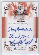 2013 Leaf Trinity Inscription Autographs DI-MM1 Miguel Maysonet Auto Rookie Card