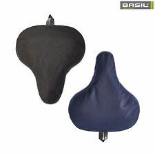 Basil Sattelbezug GO Saddle Cover - Fahrradsattel - Regenschutz Schwarz/Blau
