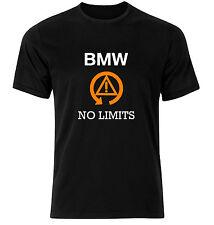 BMW Traction Control T Shirt No Limits - Black BMW Tee Shirt