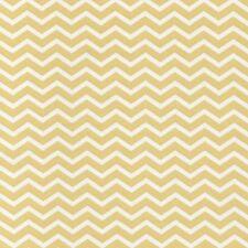 Pure - Narrow  Chevron - Pastel Yellow - 100% Cotton Fabric Dressmaking Quilting