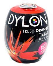 Goldfish/Fresh Orange Fabric Dye by Dylon