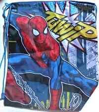 Ultimate Spiderman/Finding Dory drawstring bags, PE, swim bag, pull cord, new