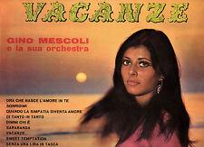 GINO MESCOLI raro disco LP 33 giri STAMPA ITALIANA Vacanze MADE in ITALY