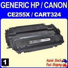 1x Generic CE255X HP 55X Black Toner HP Laserjet Pro M521 M525 P3010 P3011 P3015