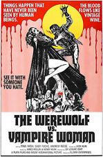 The Werewolf Vs Vampire Woman - 1971 - Movie Poster