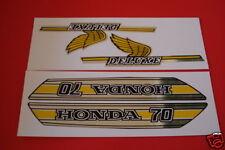 2018 honda 70 sticker. beautiful sticker honda c70 gas tank  side cover decals stickers set and 2018 honda 70 sticker