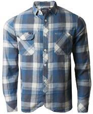 Mens Ambrose & Jackson KMPO16 designer cotton check  shirt S, M, L, XL