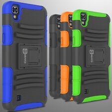 Hybrid Kickstand Case & Holster for LG X Power Belt Clip Cover