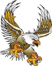 "CUSTOM EAGLE HOOD GRAPIC DECAL  #3  24"" x 19"""