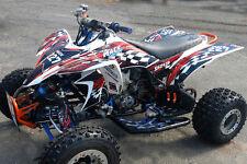 YFZ 450 graphic kit 2003 2004 2005 2006 2007 2008 Yamaha ATV decal #3500 Red