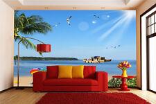 3DStrahlender Sonnenschein Fototapeten Wandbild Fototapete BildTapete Familie DE