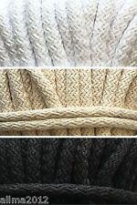 2 Meter 1,00€/m oder 25 Meter 0,90€/m Baumwollkordel 9mm Kordel Baumwolle Schnur