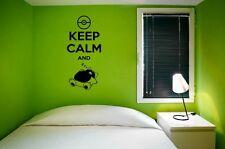 "Keep Calm And ""FUNNY"" POKEMON ""Wall Sticker Decal Decor 60 CM x 130 cm"