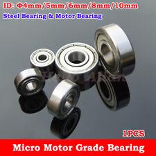 NMB Steel Bearing Motor Grade Bearing Φ4/5/6/8/10mm Car Robot Toy Model Bearing