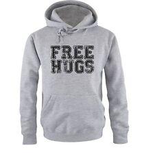 Comedia Camisetas - Free Abrazos - Sudadera Hombre - Talla S-XXL Diferentes