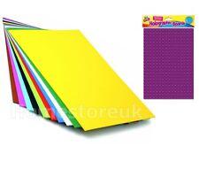 Placa de hoja de tarjeta de papel A4 Pad Blanco/Negro/Multi Color/Holográfico Arte