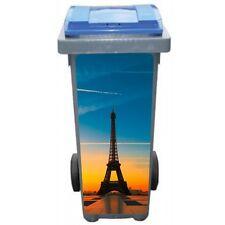 Stickers poubelle déco Tour Eiffel la nuit 3224 Art déco Stickers