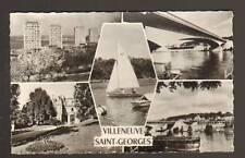VILLENEUVE-SAINT-GEORGES: Cité ,REGATES, PONT & CHATEAU