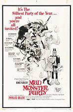 Mad Monster Party? (1969) Boris Karloff cult Horror movie poster print 2