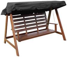 Woodside BLACK 2 & 3 posti altalena da giardino sedia CALOTTA DI RICAMBIO COPERTURA DI RICAMBIO