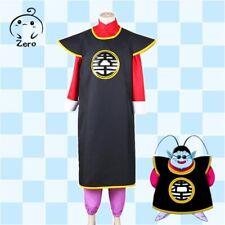 NEW Anime Dragon Ball Supreme Kai Cosplay Costume Robe Uniform Full Sets