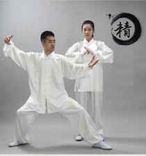 Men Women Martial Arts Performance Clothing Wu Shu Suit Practice Tai Chi Uniform