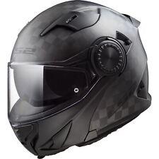FF313 Vortex Motorcycle Motorbike Carbon Solid Flip-up Road Crash Helmet