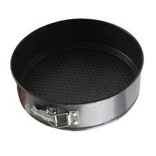 Non-Stick Round Loose Base Springform Cake Pan Tin Tray Bakeware.