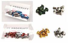 12 Bremsscheibenschrauben von Procraft aus 6 x Alu 6 x Titan