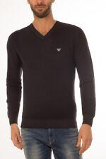 Armani Jeans AJ Sweater Pullover % Herren Schwarz 6X6MF66M0LZ-1200