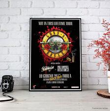 Guns N' Roses - Fine Art Poster 10 giugno 2017 Imola - Not In This Lifetime Tour