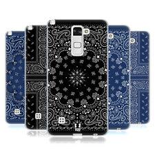Case Designs Clásico PAISLEY BANDANA HEAD Gel Suave Estuche Para LG Stylus 2