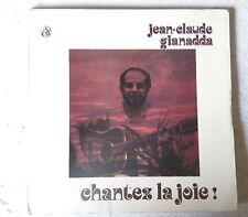 JEAN CLAUDE GIANADDA Chantez la joie ! 17516 DEDICACE