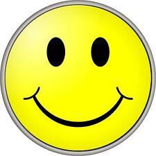 SMILEY FACE SPARE WHEEL COVER STICKER