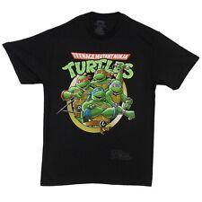 Teenage Mutant Ninja Turtles Group Licensed Adult T Shirt