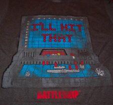 "VINTAGE STYLE BATTLESHIP Board game ""I'LL HIT THAT"" T-Shirt MEDIUM NEW W/ TAG"