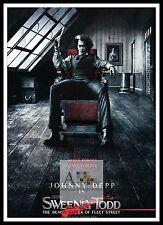 Sweeney Todd The Demon Barber Of Fleet Street 6  Movie Posters Musicals
