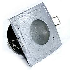 7W ~ 52W LED Einbaulampe Aqua Square eckig 230Volt GU10 EEK A+ IP65 DIMMBAR