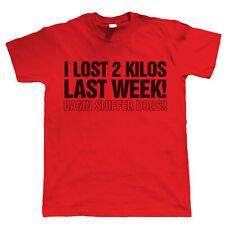 I Lost 2 Kilos Last Week, Mens Funny T Shirt - Birthday Gift For Dad Him